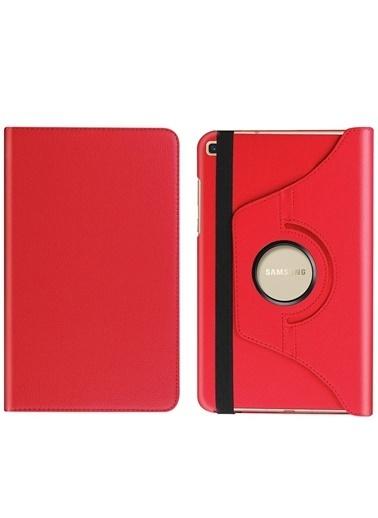 Techmaster Samsung Galaxy Tab A7 10.4 Sm-T500 360 Ayarlanabilir Kılıf Kırmızı